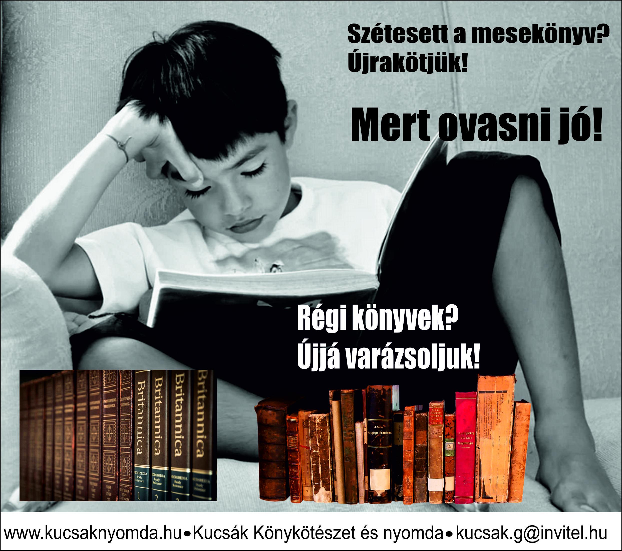 Köttessen könyvet!